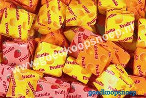 Fruittella Summer Fruits Puntzak
