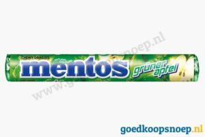Mentos Groene Appel - goedkoopsnoep.nl - snoeprollen