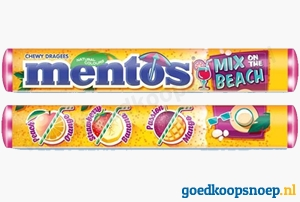 Nieuw: Mentos Mix on the Beach