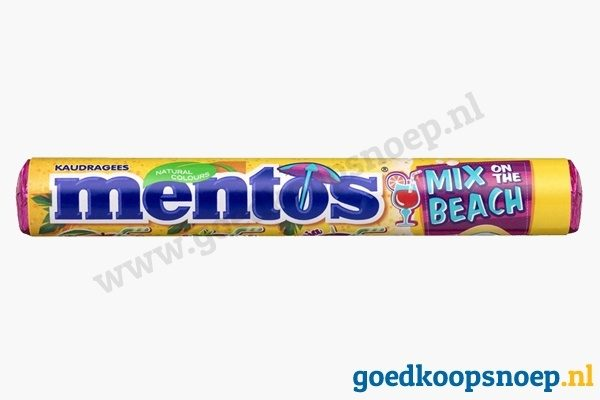 Mentos Mix on the Beach - goedkoopsnoep.nl - snoeprollen