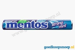 Mentos Strongmint - goedkoopsnoep.nl - snoeprollen