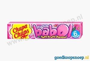 Chupa Chups Babol Gum Tutti Frutti - www.goedkoopsnoep.nl
