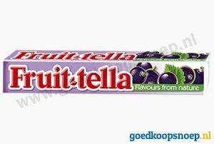 Fruittella Blackcurrant - www.goedkoopsnoep.nl