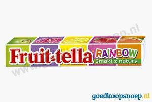 Fruittella Rainbow - Fruit-tella Rainbow - www.goedkoopsnoep.nl