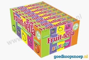 Fruittella Rainbow - Fruit-tella Rainbow - www.goedkoopsnoep.nl