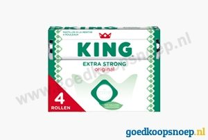 KING Pepermunt Extra Strong - www.goedkoopsnoep.nl