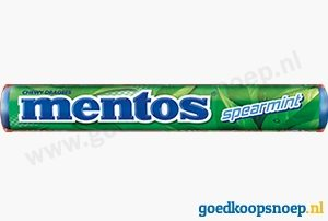 Mentos Spearmint | www.goedkoopsnoep.nl