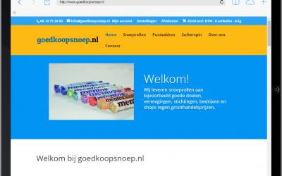 Nieuwe website goedkoopsnoep.nl online