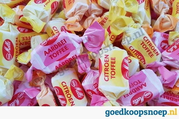 Perfetti van Melle Fruit Toffee - www.goedkoopsnoep.nl