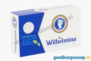 Wilhelmina Pepermunt 100 gram showdoosje pepermunt actie goedkoopsnoep.nl