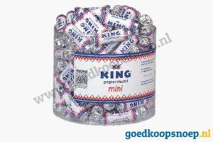 KING Mini Silo circa 110 stuks - www.goedkoopsnoep.nl