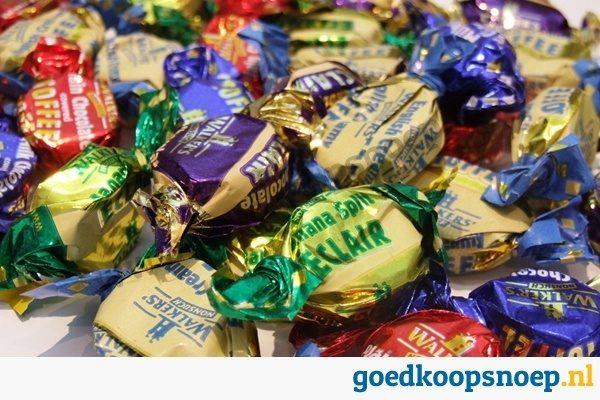Walkers Eclais Toffee mix 200 gram   goedkoopsnoep.nl   goedkoop snoep   snoeprollen actie   goedkope puntzakken   bulk snoep