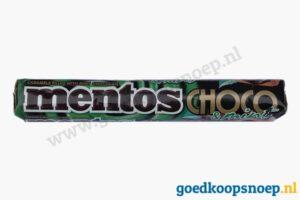 Mentos Choco Mint - goedkoopsnoep.nl - snoeprollen