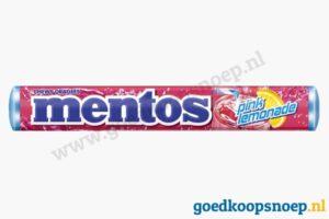 Mentos Pink Lemonade - goedkoopsnoep.nl - snoeprollen goedkoop goedkoopsnoep.nl