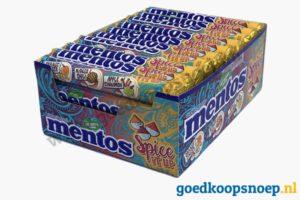 Mentos Spice It Up - goedkoopsnoep.nl - snoeprollen - 40-pack