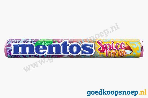 Mentos Spice It Up - goedkoopsnoep.nl - snoeprollen