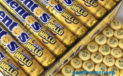 Nieuw! Mentos Say Hello Lemon