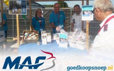 Snoeprollen actie voor MAF Nederland, familie de With