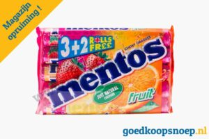 Mentos Fruit 5-pack magazijn opruiming goedkoopsnoep.nl