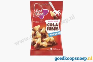 Red Band cola flesjes 100 gram - goedkoopsnoep.nl