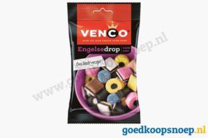 Venco Engelse drop 90 gram - goedkoopsnoep.nl