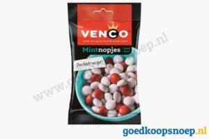Venco Mintnopjes 90 gram - goedkoopsnoep.nl