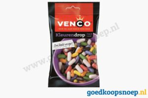 Venco kleuren drop 90 gram - goedkoopsnoep.nl